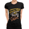 Wake Up & Smell The Coffee T-Shirt - ThePopCoffee