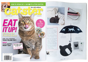 Xenotees' Cat Nap Pillowcases are featured in the Catster Magazine article,