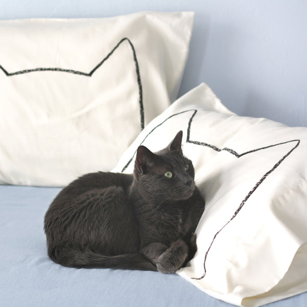 Cat Nap Pillowcases in Catster Magazine