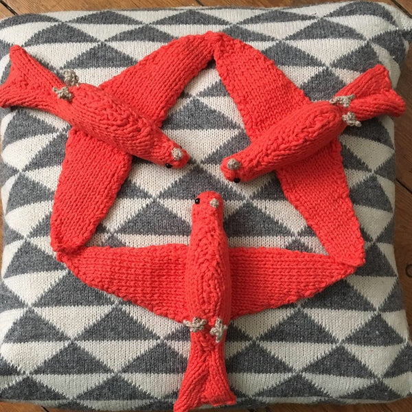 Hand Knitted Brid Lover Gift by tintabernacle on Etsy