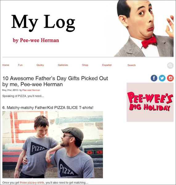 Pee-wee Herman picks 10 awesome Father's Day gifts