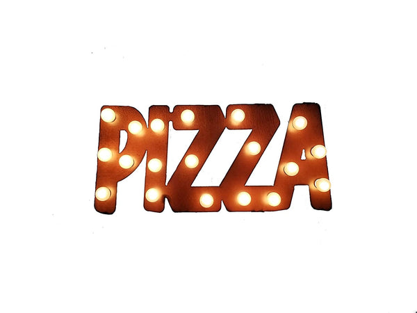 Rustic Pizza Wall Art for Dad on Amazon