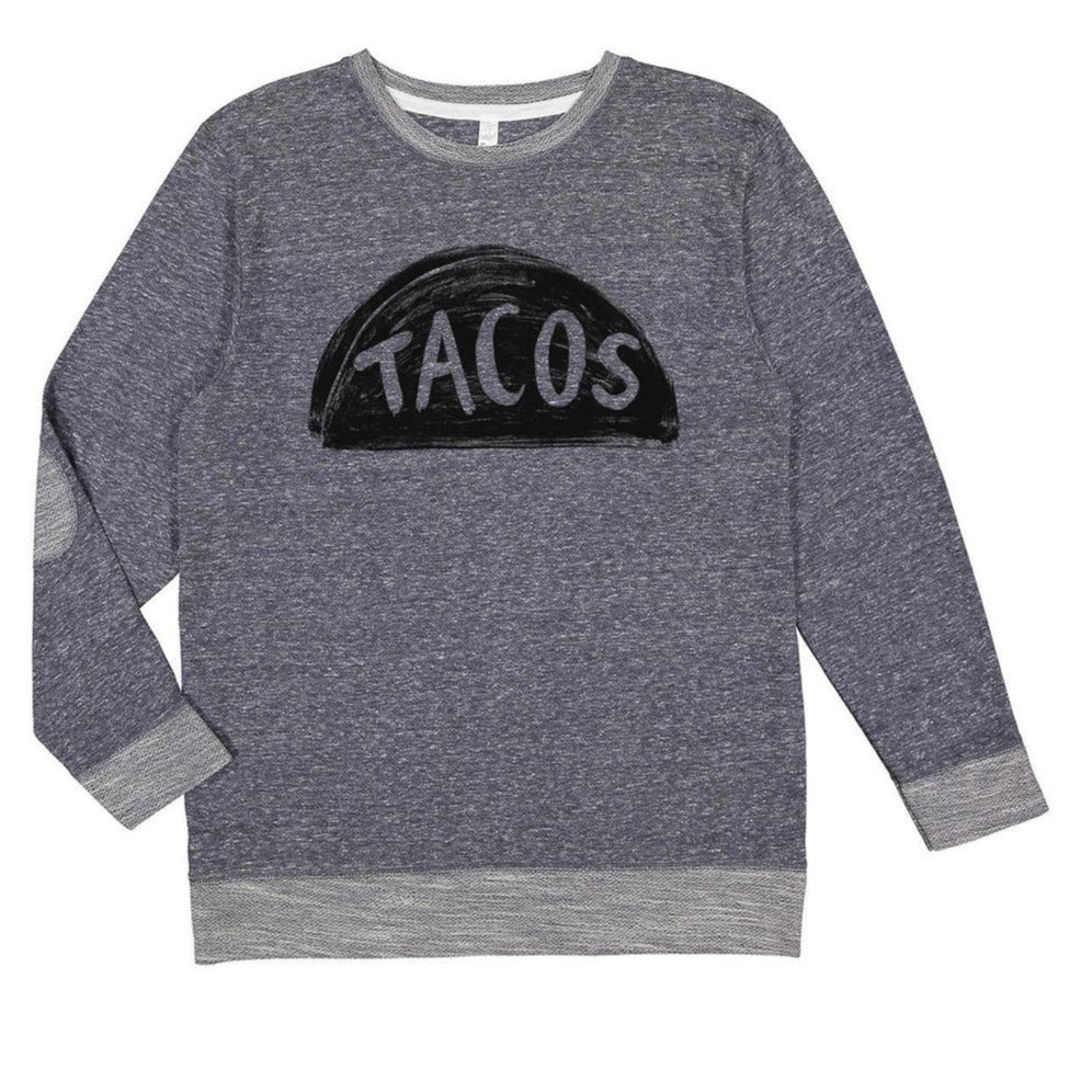 Cute Womens Taco Graphic Sweatshirt to wear with leggings