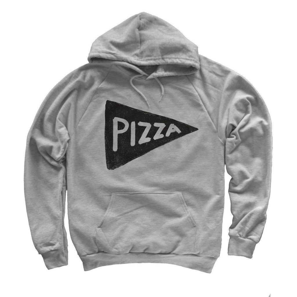 Unisex Pizza Party Hooded Sweatshirt Men Tshirts - by Xenotees  - 1