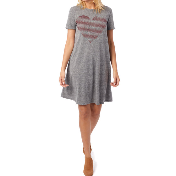Ladies Flowy Animal Lovers T-Shirt Dress