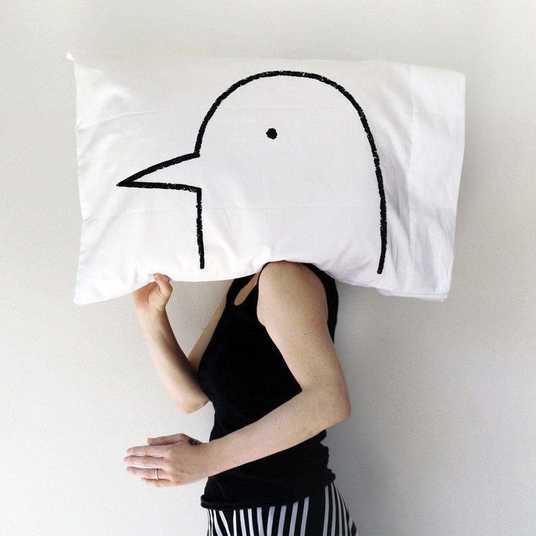 Lovebird Pillowcase by Xenotees