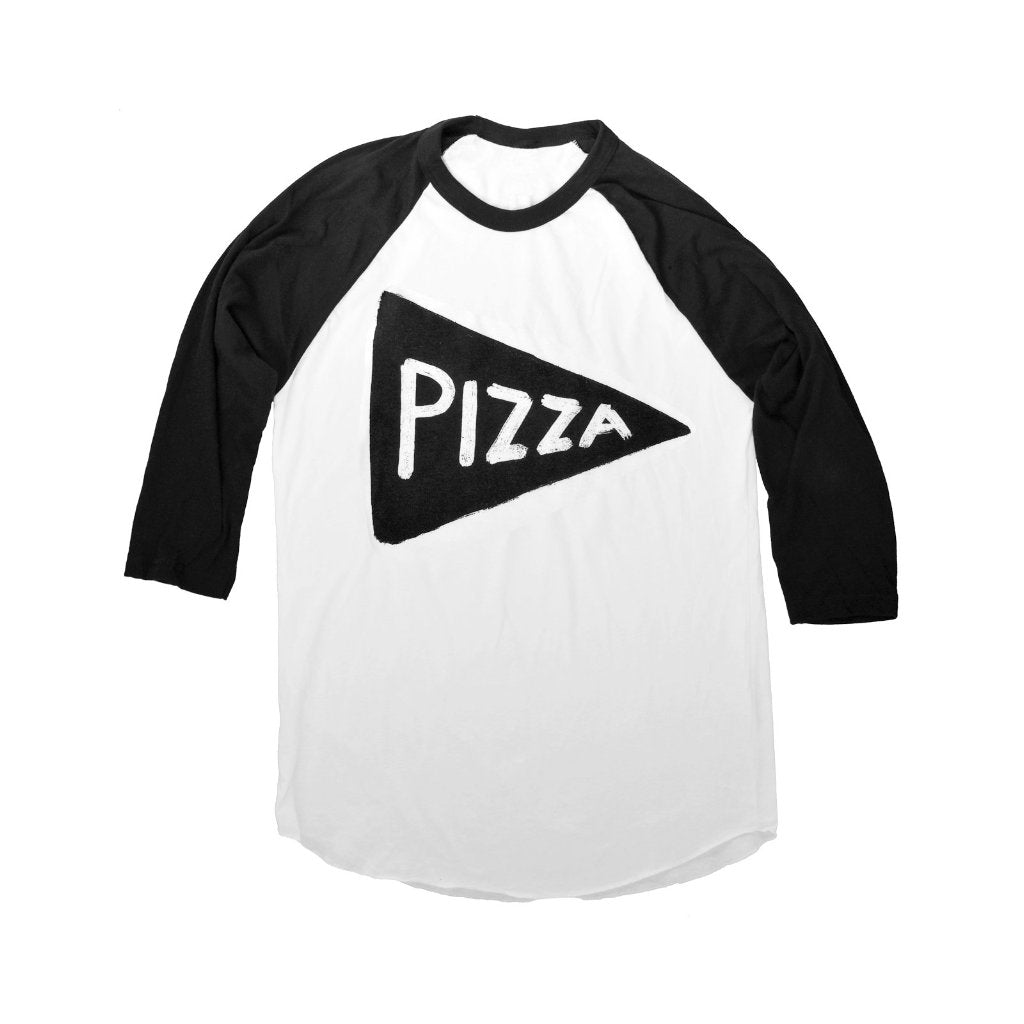 Pizza Party Baseball Jersey T Shirt by Xenotees