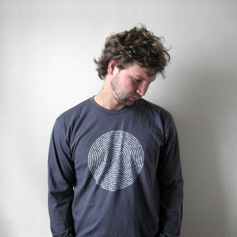 Animal Collective Nouns Mens Long-sleeve T shirt Men Tshirts - by Xenotees  - 1