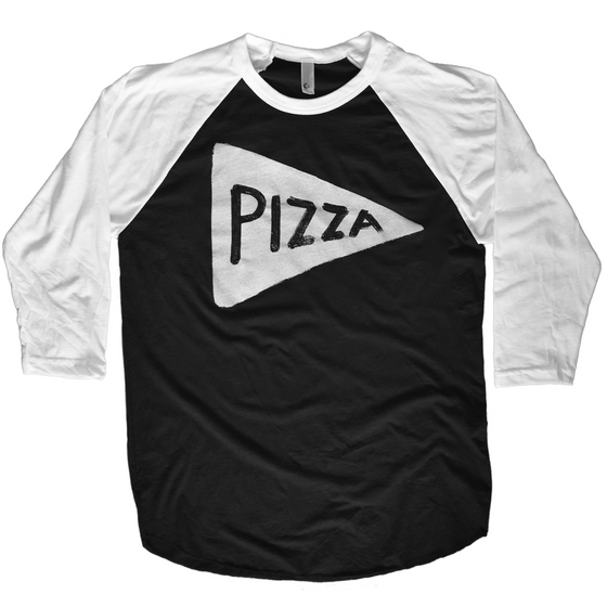 Team Pizza Baseball Jersey Shirt Men Tshirts - by Xenotees  - 1