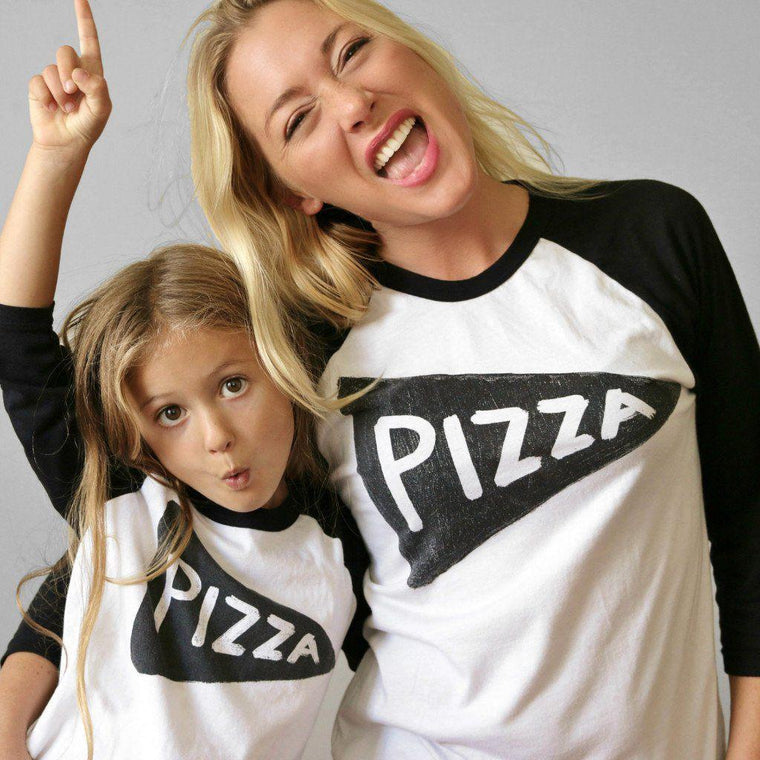 Unisex Pizza Party Baseball Jersey Shirt Set Men Tshirts - by Xenotees  - 1