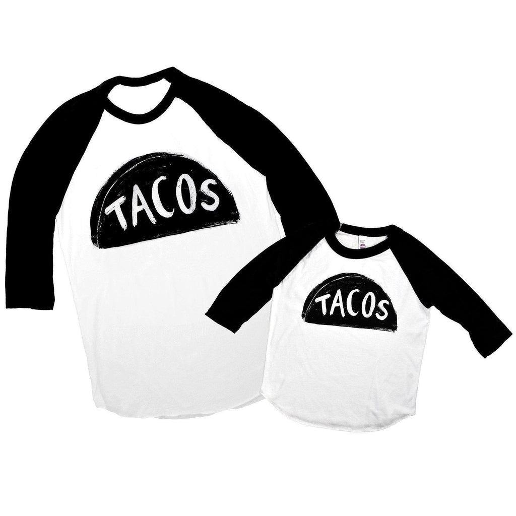 Father Baby Matching Taco Shirts, a unique gift for dad from kids!