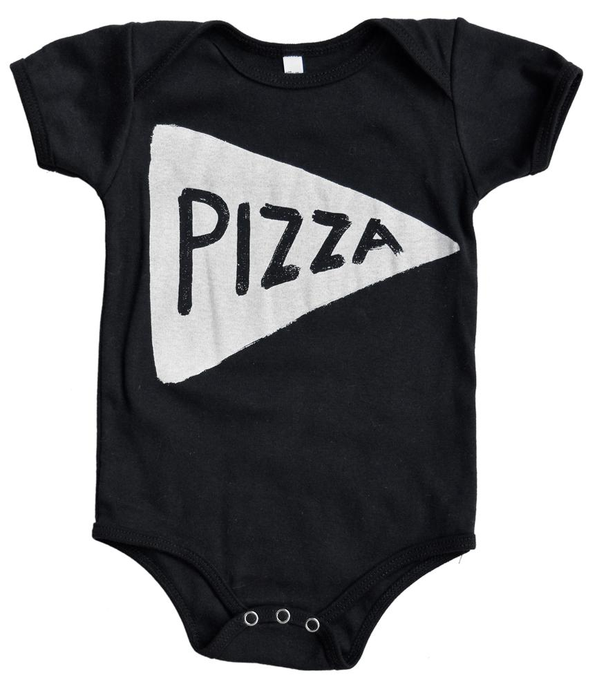 Pizza Baby Girl Onesie, Baby Girl Clothes, New Dad Gift