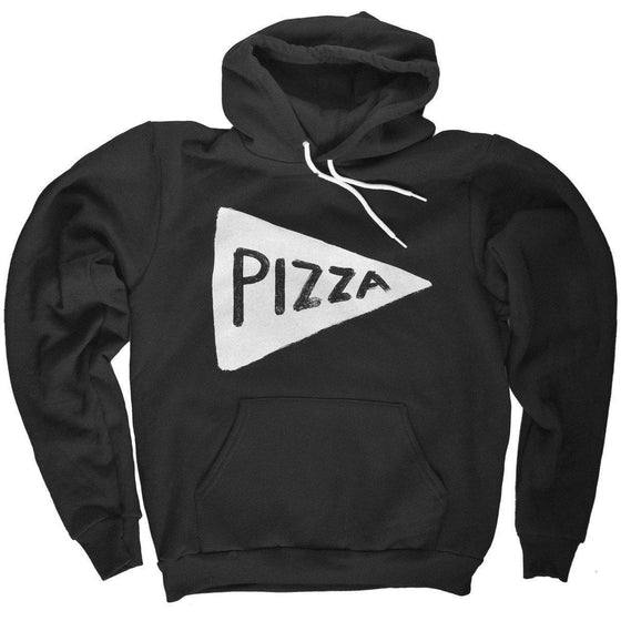 Unisex Pizza Party Hooded Sweatshirt by Xenotees