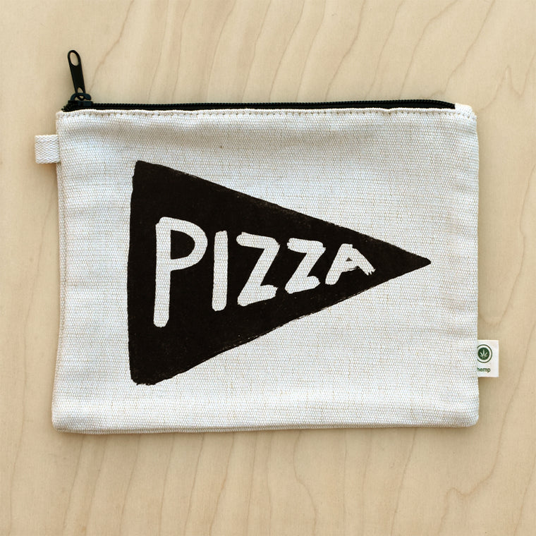 Pizza Lover Canvas Pouch