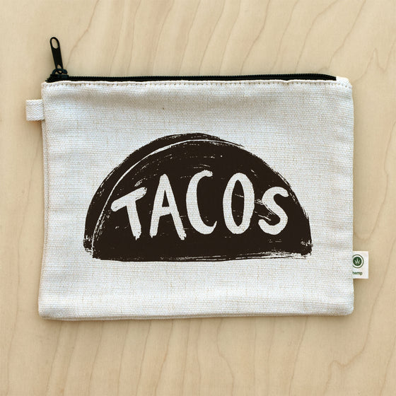 Taco Lover Canvas Pouch by Xenotees