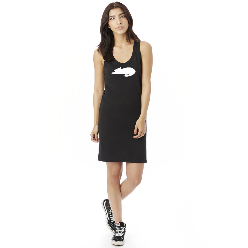 Womens Cat Nap Tank Dress by Xenotees