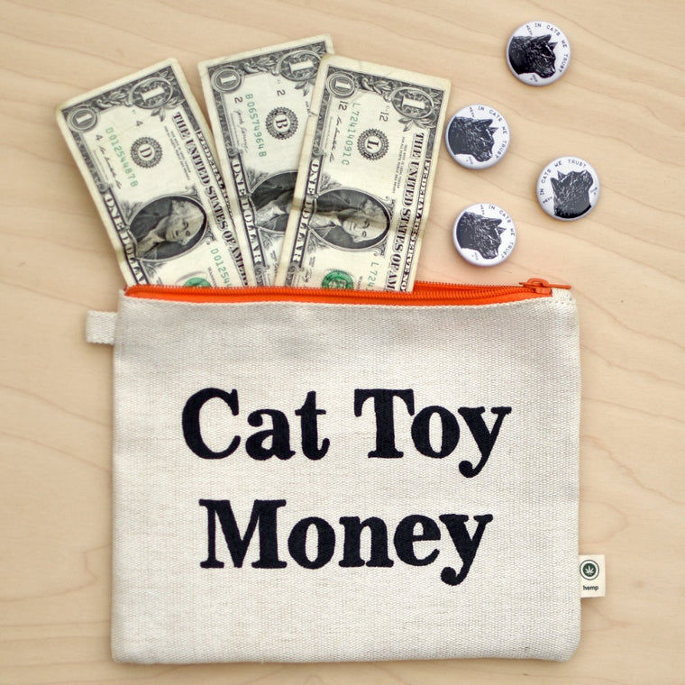 Cat Toy Money Pouch