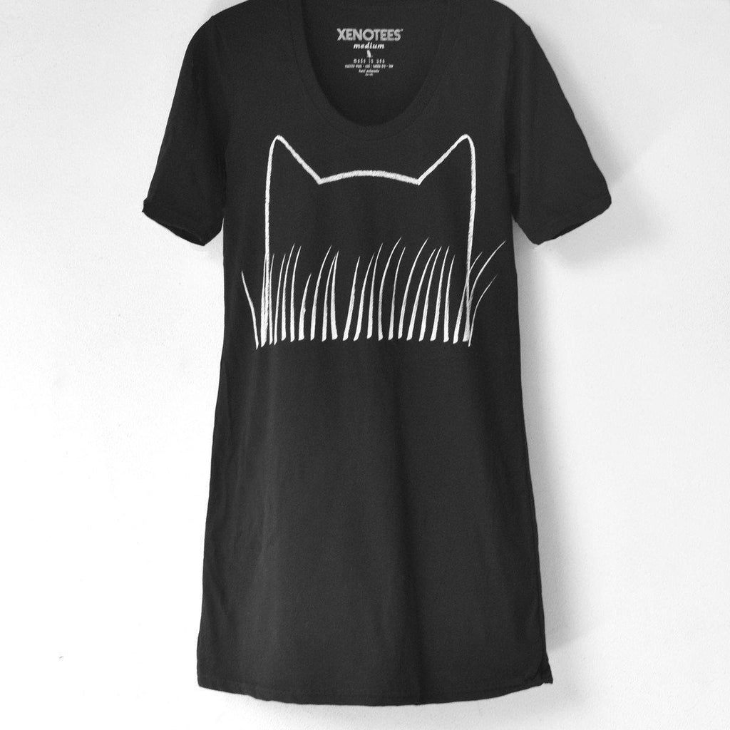 Womens Cat Print Dress - Xenotees