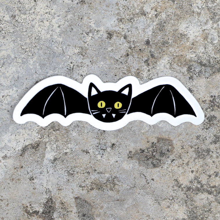 Cat Bat Sticker by Xenotees