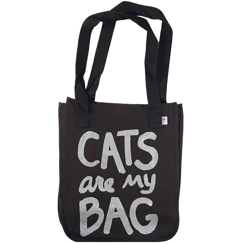 Cat Lover Tote Bag, Canvas Tote Bag, Tote Bags for Mom, Cat Gifts