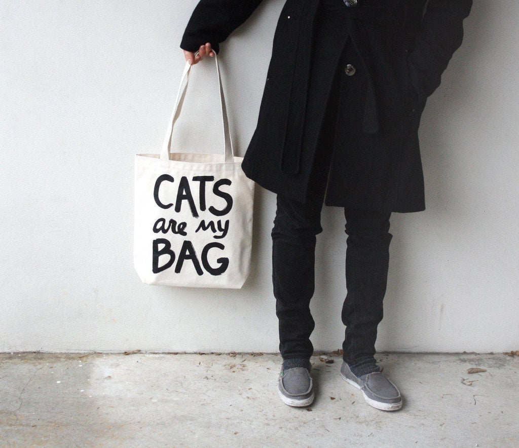 Cats Are My Bag Tote - Xenotees