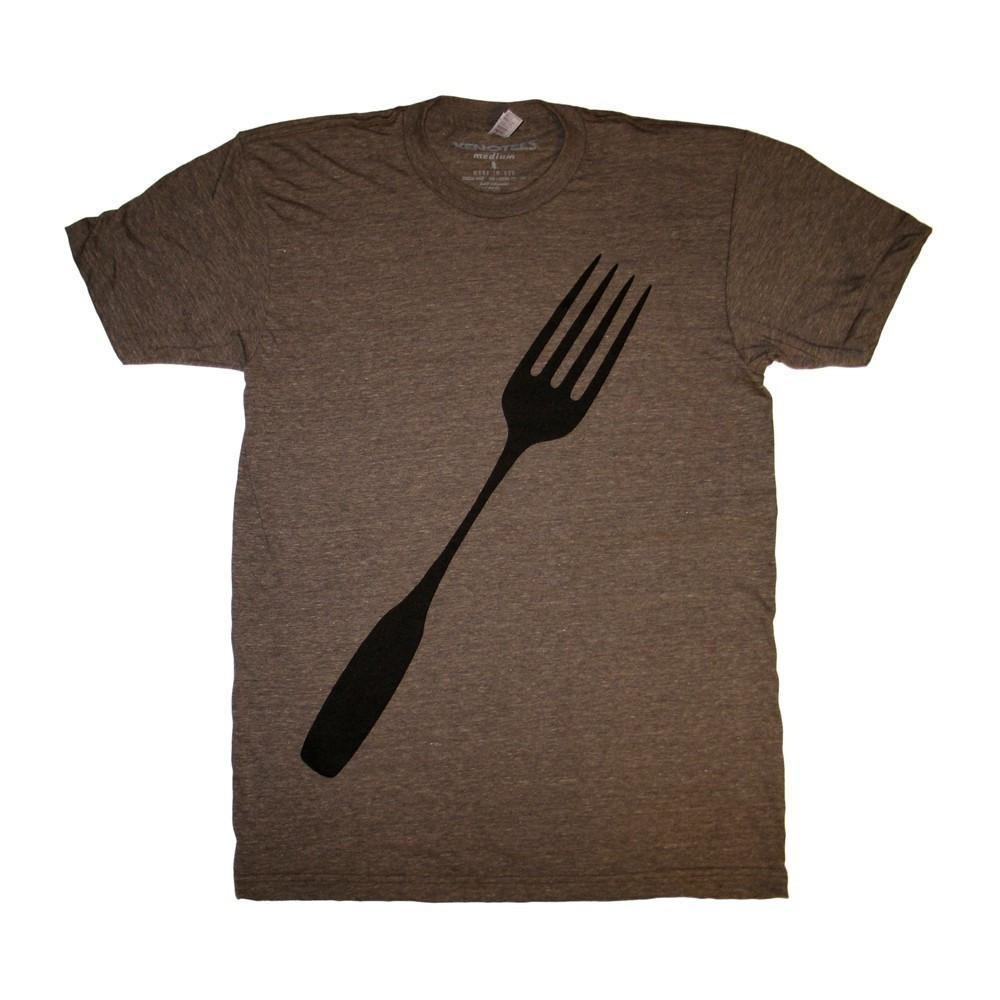 Xenotees Fork T-shirt Track Tee by Xenotees