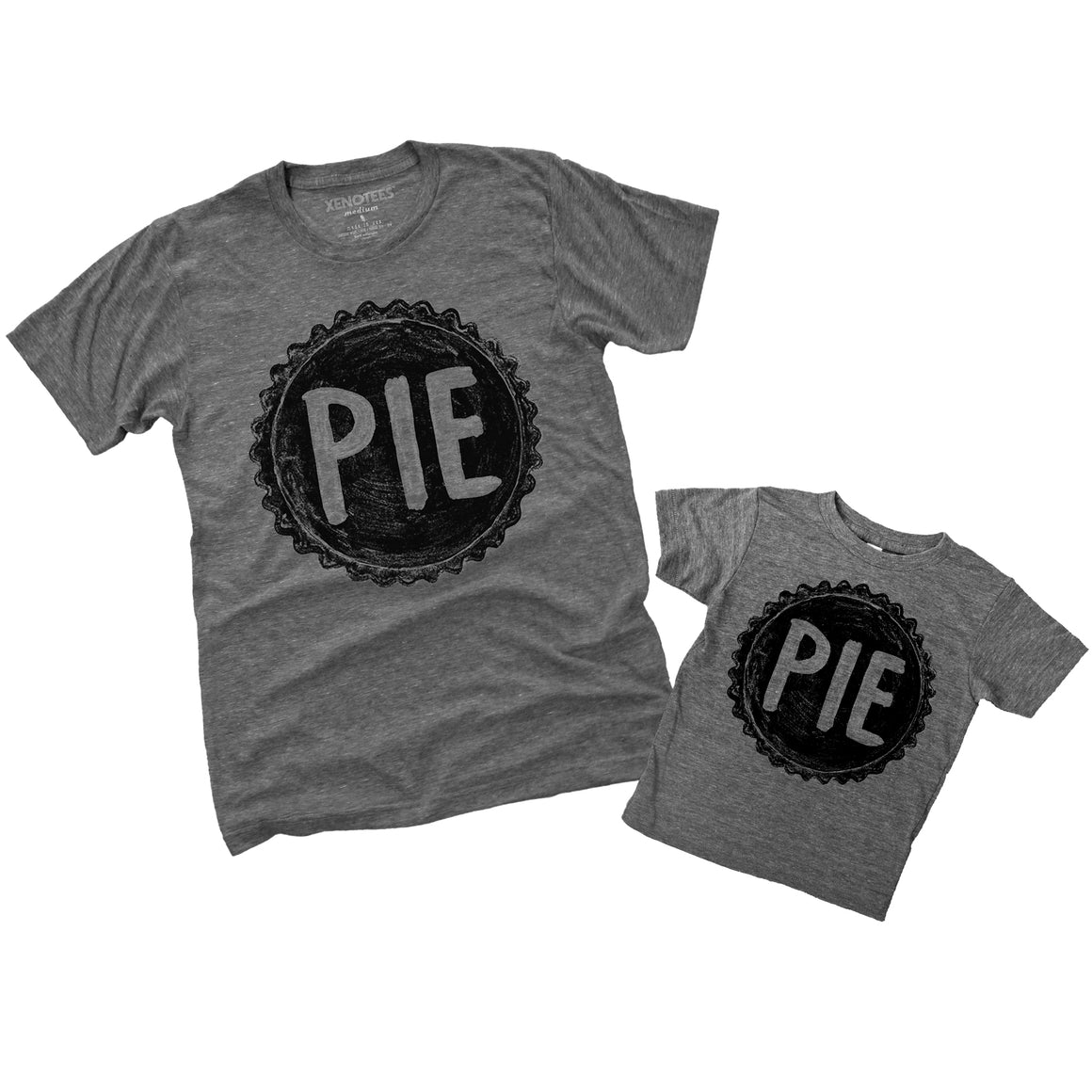 Father Daughter, Father Son Matching PIE T Shirts by Xenotees