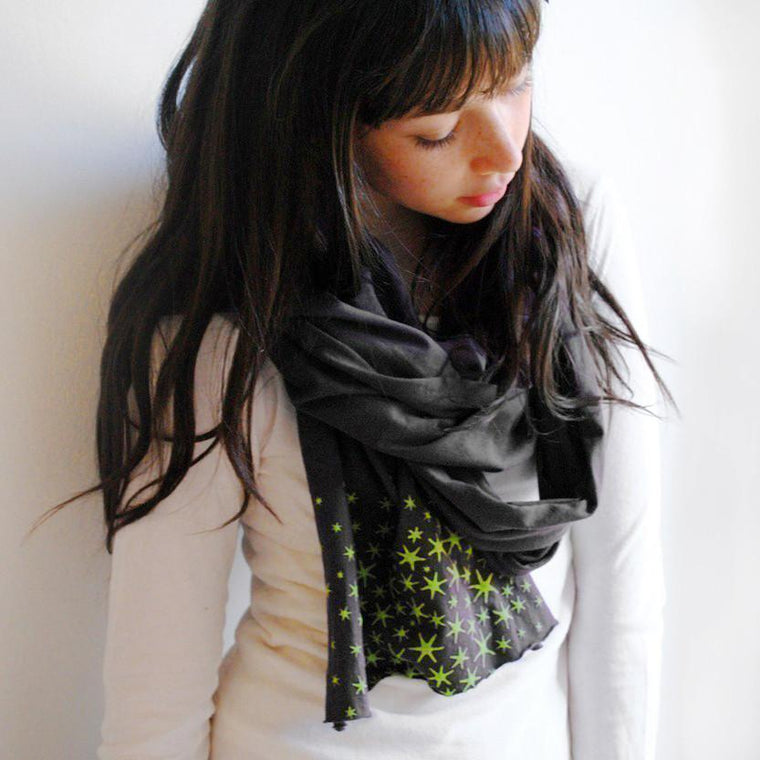 Japanese Star Moss Scarf by Xenotees