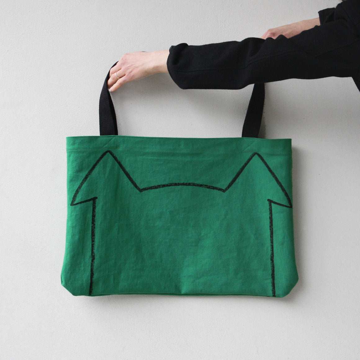 Lucky Dog Mom Market Tote Bag by Xenotees