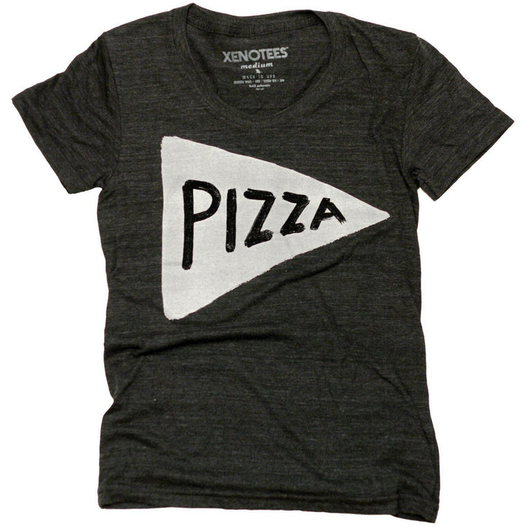 Pizza Funny Womens Tshirt