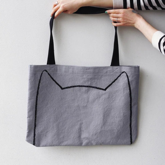 Big Cat Tote Bag by Xenotees