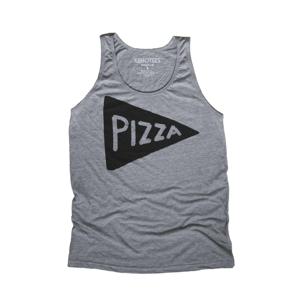 Men's Pizza Tank Top by Xenotees