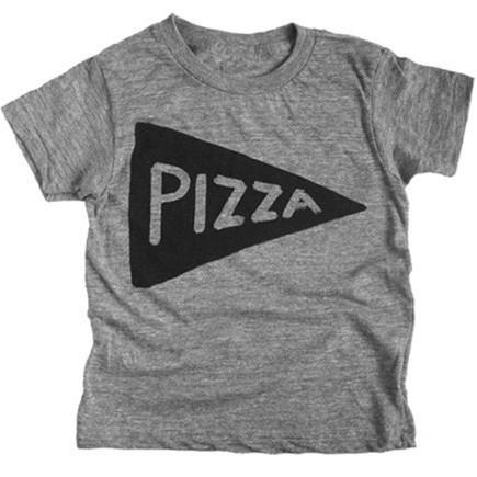 Kids Pizza T Shirt by Xenotees