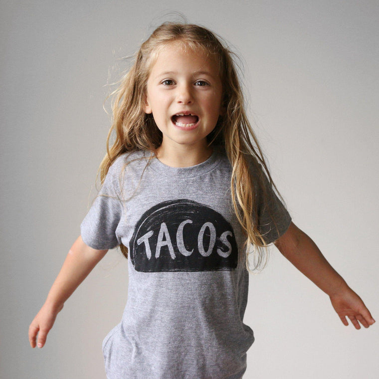 Kids Taco Tuesday T-shirt Kids Clothing - by Xenotees  - 1