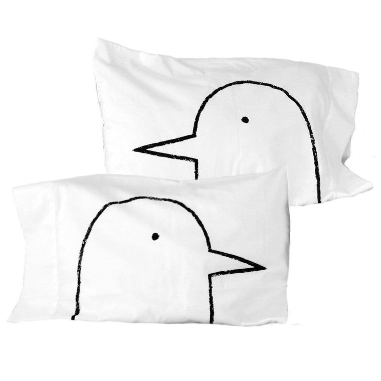 Lovebirds Couples Pillow Case Set