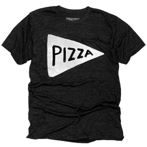 Men's Black Pizza T-shirt