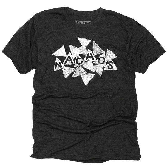 Mens Nachos T Shirt by Xenotees