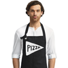 Pizza Chef Canvas Apron in Black