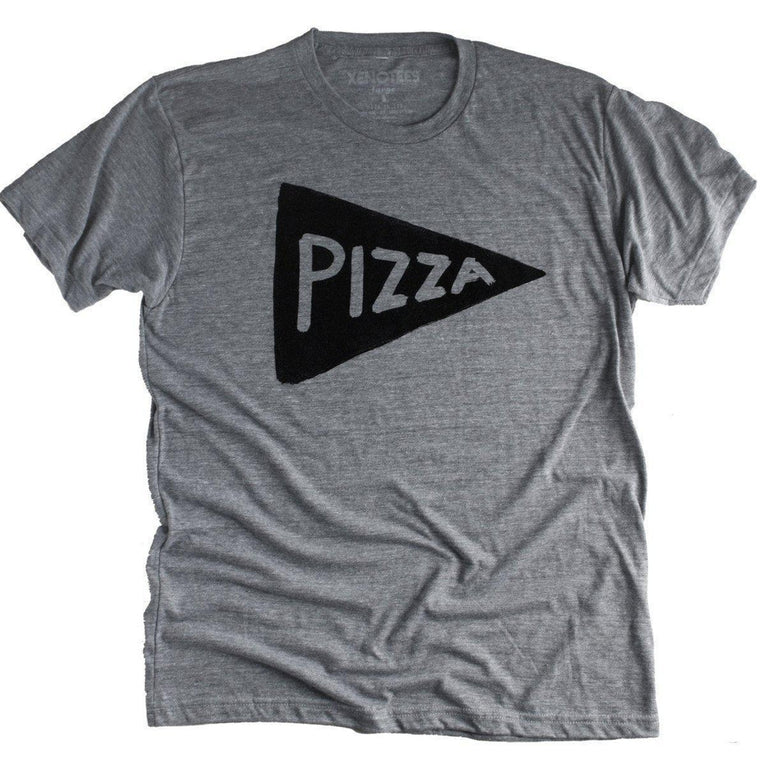 Mens Pizza Party T-shirt by Xenotees