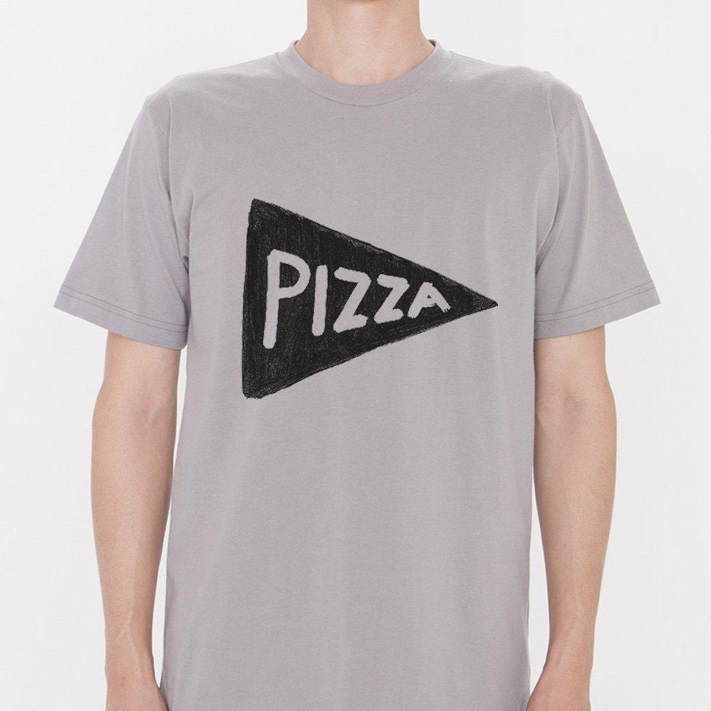 Mens Organic Pizza Tshirt by Xenotees