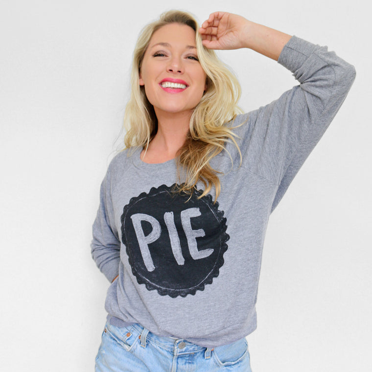 Women's Pie Pullover Sweatshirt by Xenotees