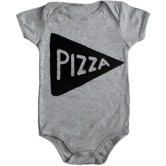 Pizza Baby One Piece by Xenotees
