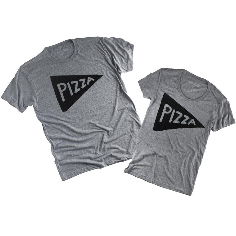 Couples Pizza Shirt Gift Set