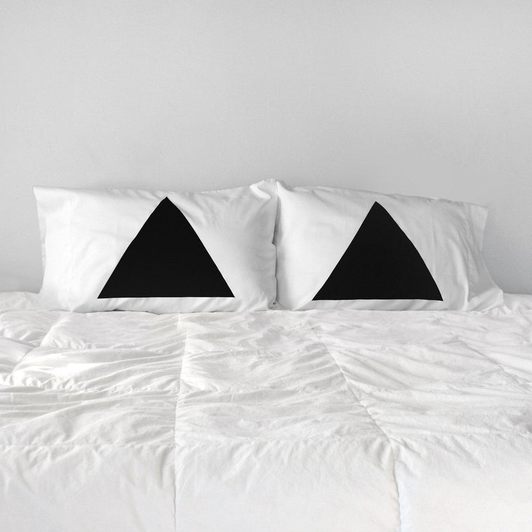 Pyramid Pillowcases - Set of 2 by Xenotees