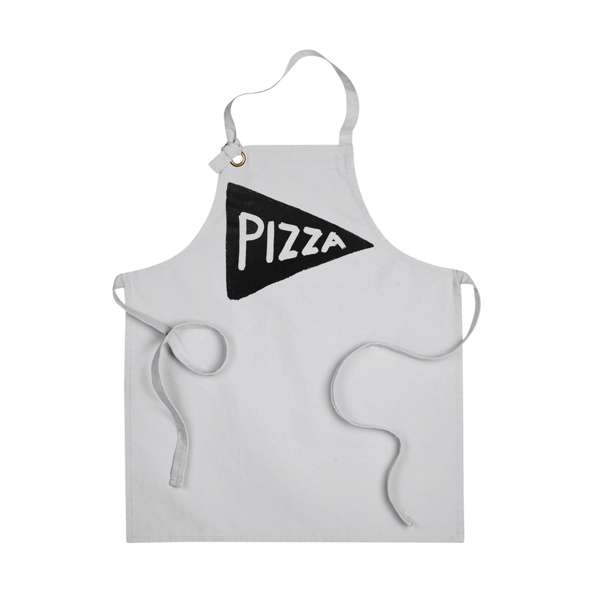 Pizza Slice Cotton Canvas Apron by Xenotees