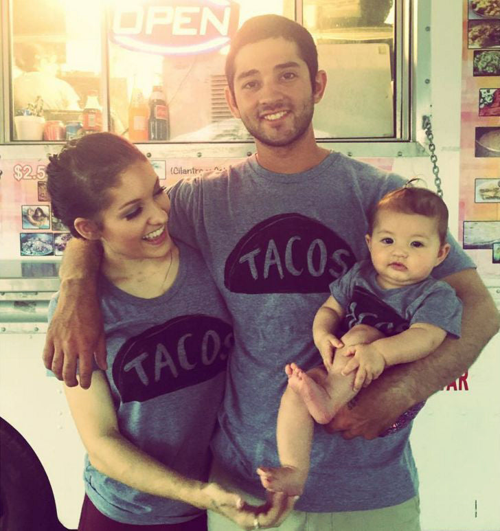 021553c2 Father Son Matching Taco Shirts, Dad Daughter Outfit, Fathers Day Gift