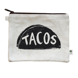 Taco Lover Canvas Pencil Pouch