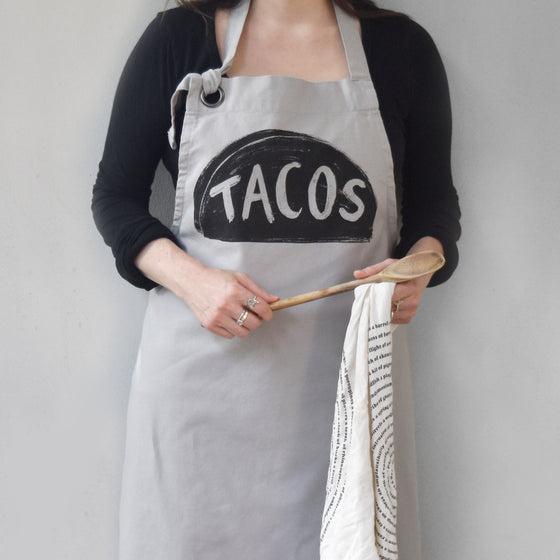Taco Tuesday Cotton Canvas Apron by Xenotees
