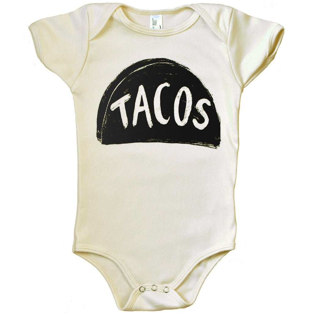 Organic Baby Taco One Piece Kids Clothing - by Xenotees  - 1