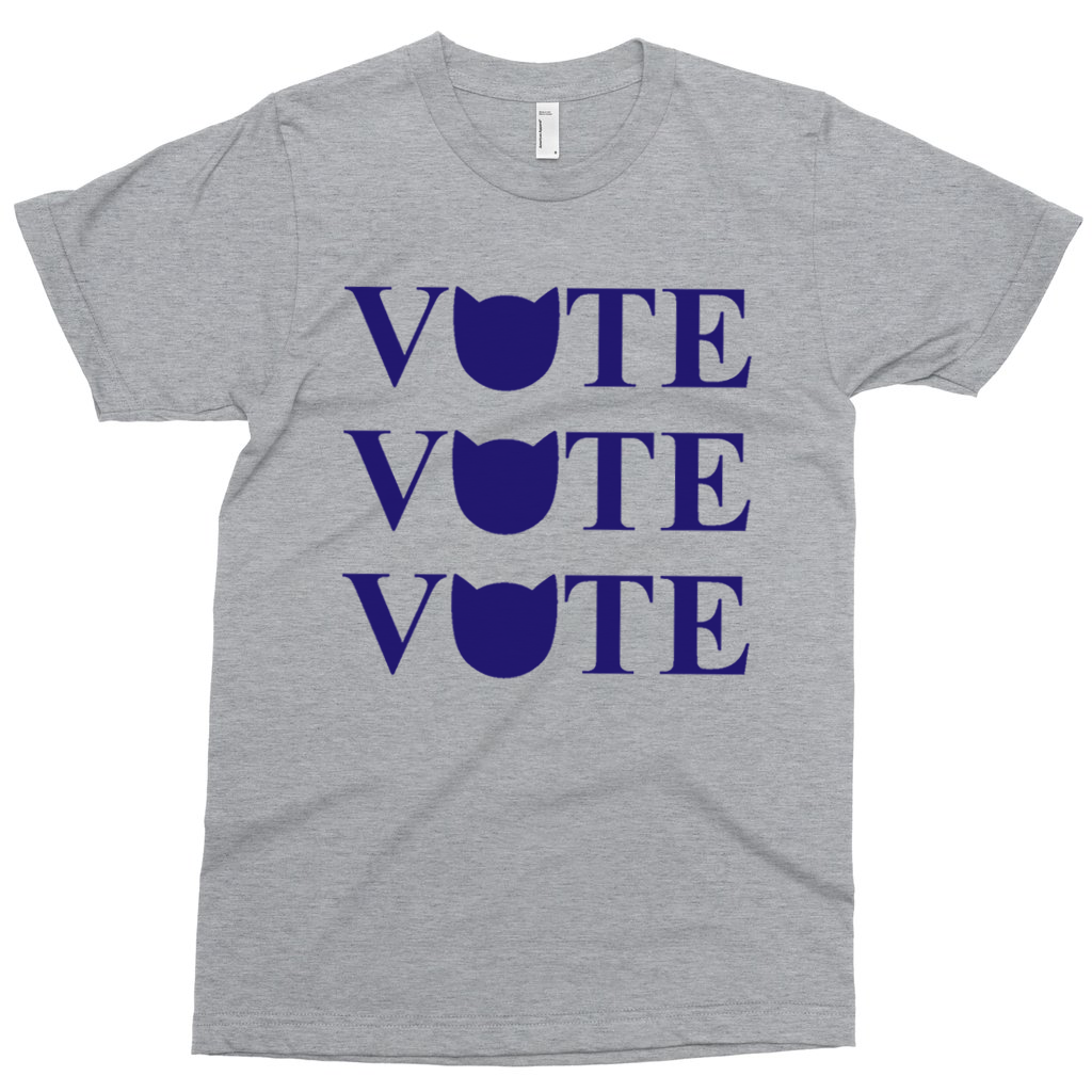 Cool Cats Vote T-shirt